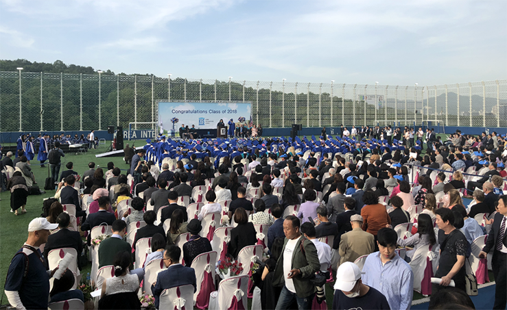 2018 Korea International School High School Graduation