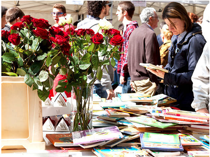 Everyone Should Celebrate Sant Jordi