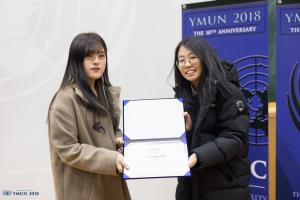 A Decade of Perfection, YMUN 2018