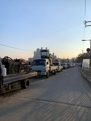 Traffic Chaos in the Peaceful Village of Yangji